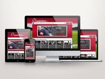 Site internet responsive coachxv.com