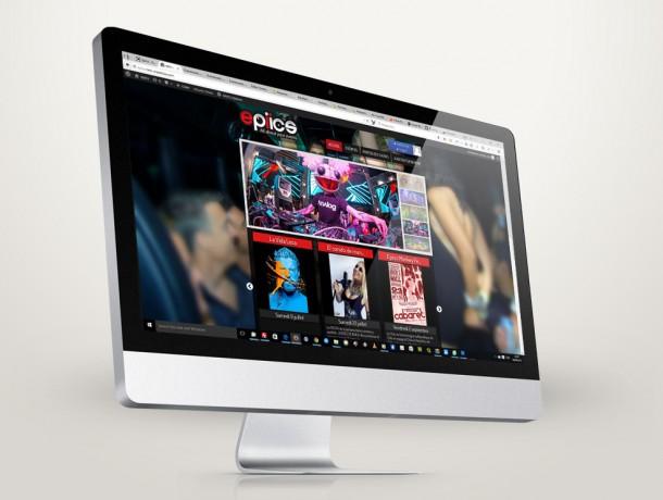Site internet responsive epiics.com