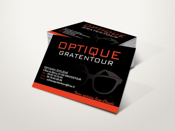 cartes visite optique gratentour