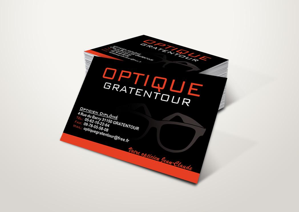 Cartes De Visite Pour Optique Gratentour