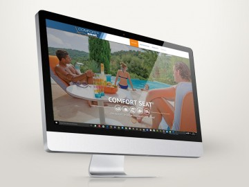Site vitrine responsive loisirsconfort.com